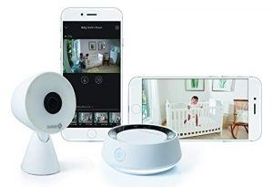 Motion detector baby monitor