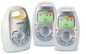 VTech DM 223-2 Deaf Parents Baby Monitor With Vibrating