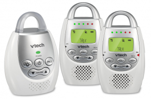 vtech vibrating deaf parents baby monitor