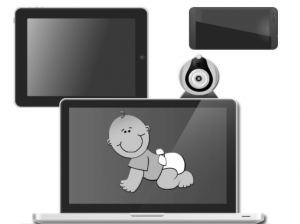phonic video baby monitor app